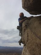 Rock Climbing Photo: For leader and follower both, don't fall on th...