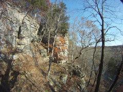 Rock Climbing Photo: Great exploring hike