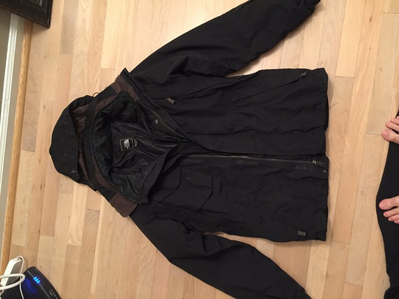 tnf shell and liner