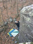 Rock Climbing Photo: Higher up on Hurricane