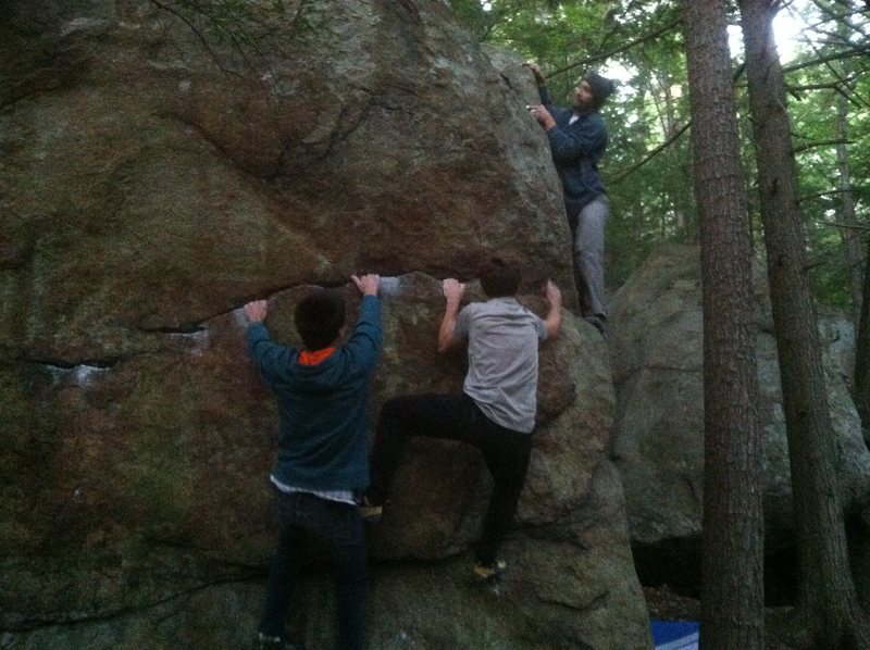 Rock Climbing Photo: All aboard the send train!