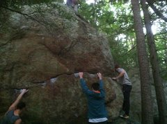 Rock Climbing Photo: Chugga Chugga Choo Choo
