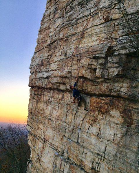 Rock Climbing Photo: taken from High E rap