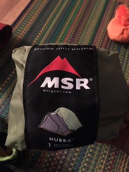 Rock Climbing Photo: MSR Hubba