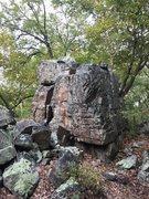 Rock Climbing Photo: Unknown Boulder near Wolf Rock, Catoctin Mountain ...
