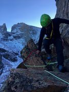 Rock Climbing Photo: What you'll find on the front side rappel - ch...