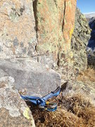 Rock Climbing Photo: Found mid-P2.