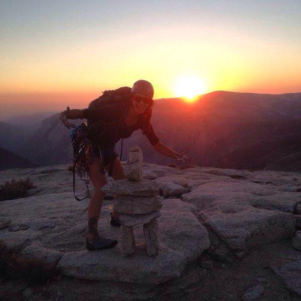 Because Yosemite at sunset .