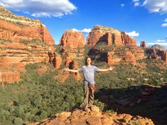 Rock Climbing Photo: Welcome to Boynton Canyon!