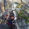 Topping out at Cunningham Falls