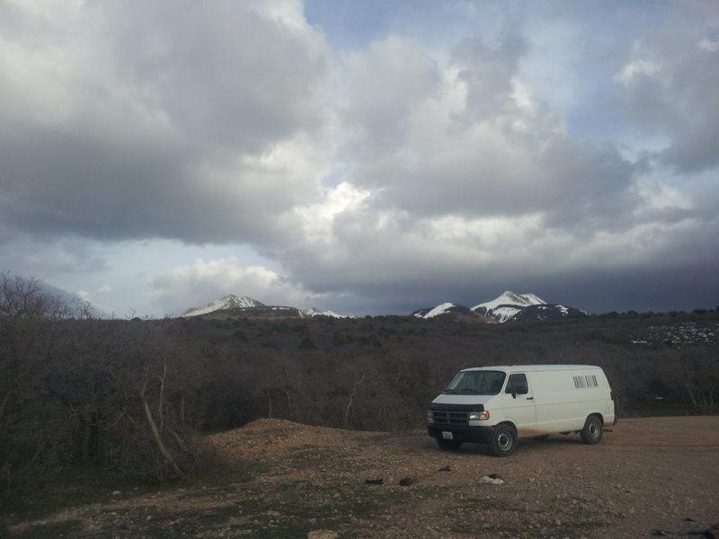Rock Climbing Photo: van