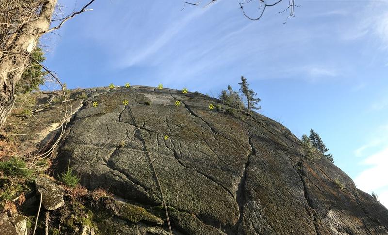 Rock Climbing Photo: Dalle de la Verte