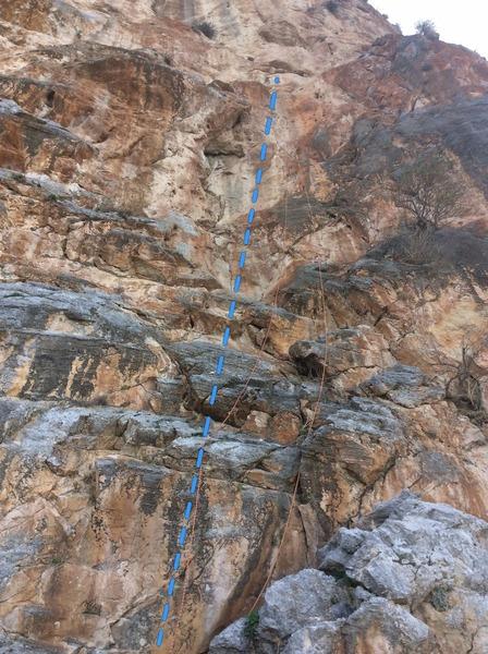 Rock Climbing Photo: Highway to heaven