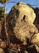 Rock Climbing Photo: Tuning Fork.