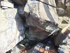 Rock Climbing Photo: Very cool compression problem starting low inside ...