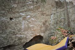 Rock Climbing Photo: Starting hueco for the Eye Of Providence