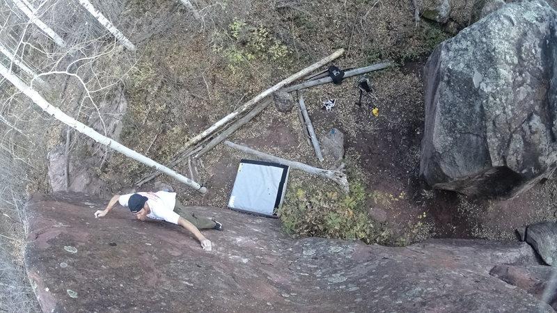 Rock Climbing Photo: Redstone Boulders