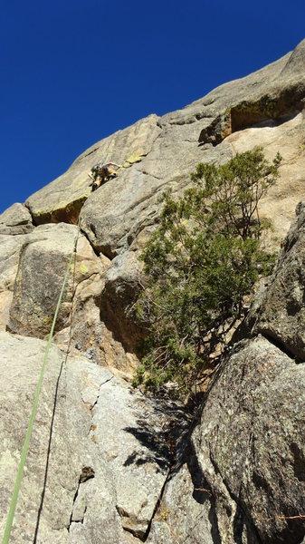 Rock Climbing Photo: Fun climbing.