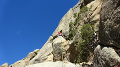 Rock Climbing Photo: Super fun to cram yourself in here if you are tall...