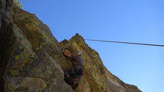 Rock Climbing Photo: Brian.