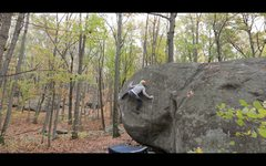 Rock Climbing Photo: Setting up for the move to the top on 'Silent ...