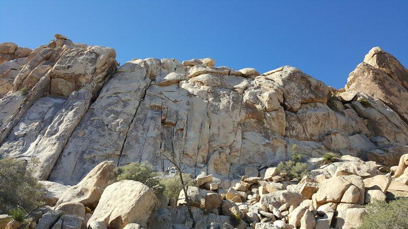 Rock Climbing Photo: Hemingway Wall