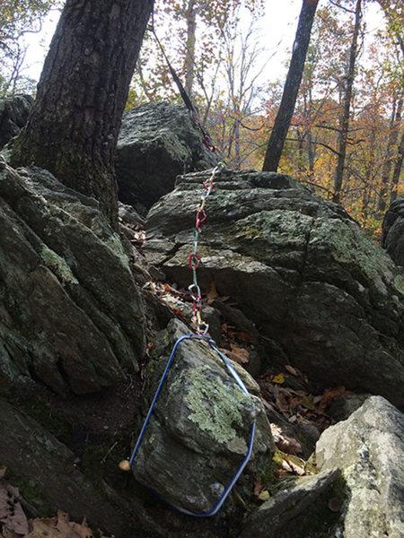 Rock Climbing Photo: Tr anchor