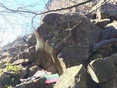 Rock Climbing Photo: Beautiful arete in the talus of the chin.