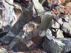 Rock Climbing Photo: Fun easy route.