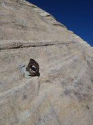 Rock Climbing Photo: inspiring much confidence in the bolts