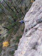 Rock Climbing Photo: Having fun on the arete, feeling weightless!