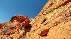Rock Climbing Photo: Dry Docked run