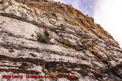 Rock Climbing Photo: Mystery Companion, Sacred Trust Wall. First pitch ...