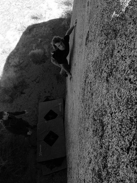 Rock Climbing Photo: Zorro!!!