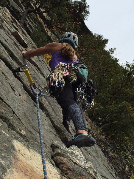 Rock Climbing Photo: trad