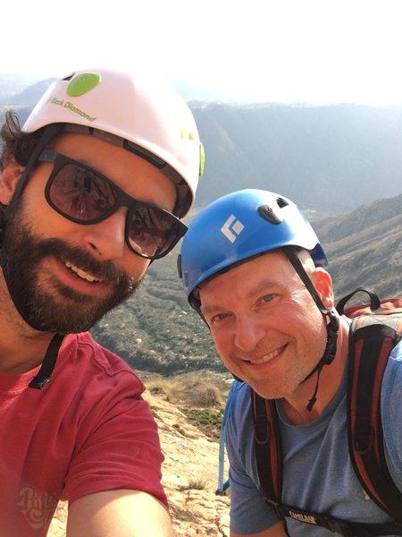 Rock Climbing Photo: Brian and Scott