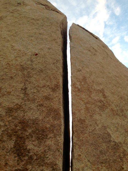 Rock Climbing Photo: JT OW!!!