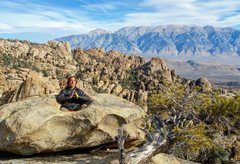 Rock Climbing Photo: Transcendental Spaceship to the top of Benton Crag...
