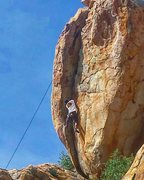Rock Climbing Photo: King of Swing - Jed Andersen