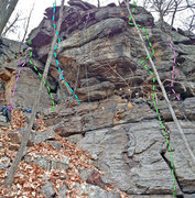 Rock Climbing Photo: Adventure Stories - Left side from S: B. The Odyss...