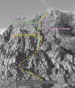 Rock Climbing Photo: Topo #1