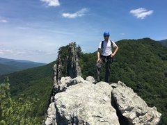 Rock Climbing Photo: The South Peak at Seneca Rocks