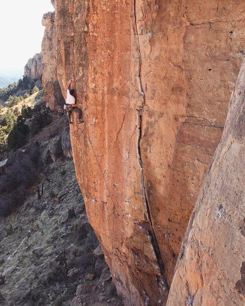 Rock Climbing Photo: Classic.