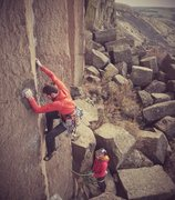 Rock Climbing Photo: Matt Boyer gettin some and Graham Zimmerman sendin...