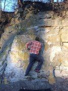 Rock Climbing Photo: Starting position