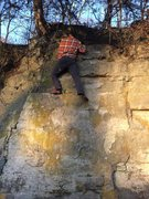 Rock Climbing Photo: Topped!