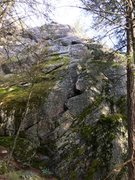 Rock Climbing Photo: Right side of Lower Cliff.