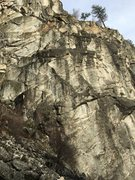 Rock Climbing Photo: West Face middle cliff.