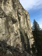 Rock Climbing Photo: West Face Lower.