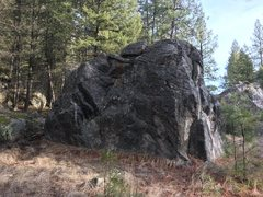 The west face of Boulder F